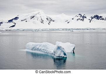 Antarctica - Landscape With Iceberg