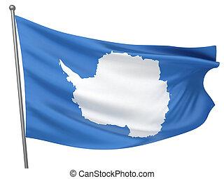 Antarctica National Flag