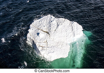 Antarctica - Piece Of Floating Ice