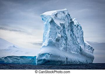 antarctique, iceberg