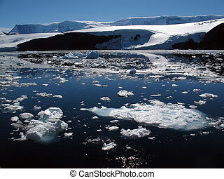 antarctisch, kust