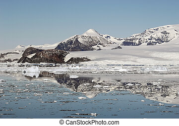 antarktisk, mountains