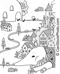 anteater adult coloring page - adult coloring page -...