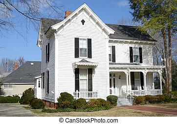 Antebellum Home - A historic antebellum home in Georgia.