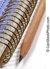 anteckningsblock, spiral