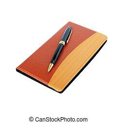 anteckningsbok, dagbok