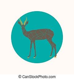 Goat Antelope Vector Clip Art EPS Images 125 Clipart