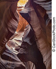 Antelope Slot Canyon in Page Arizona