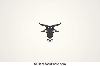 Antelope vector icon
