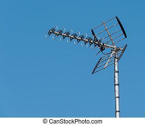 antena aérea de tv