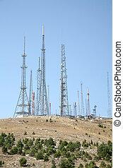 antena, fundo