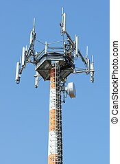 antena, para, telecomunicaciones