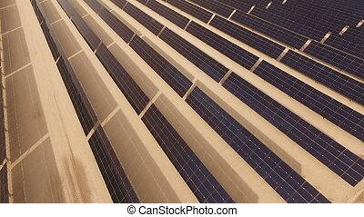 antenn, lantgård, energi, stort, elektricitet, produktion,...