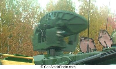 Antenn working of Tunguska M1 - Nizhniy Tagil, Russia -...