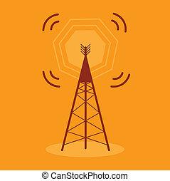 Antenna Communication Icon