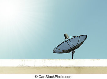 Antenna communication satellite dish