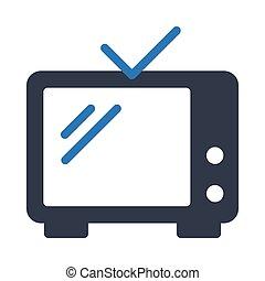 antenna  glyph color icon