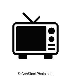 antenna glyph flat icon