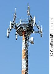 antenna, per, telecomunicazioni