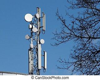 Antenna system - Communication system in the vilnius city.