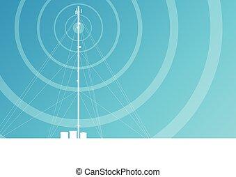 Antenna transmission communication