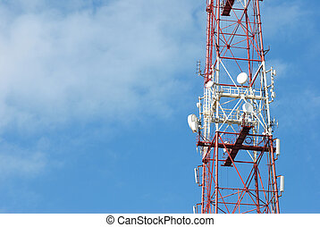 antenna wth space for your text