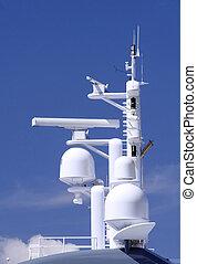 Antennas - Radar and loran navigational antenna