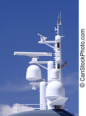 Antennas - Radar and loran navigational antenna