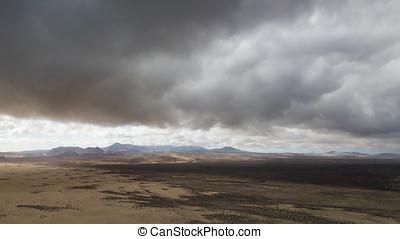 antenne, ørken, udsigter
