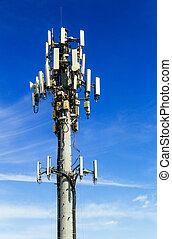 Antenne, Beweglich, kommunikation, Bild, Kommunikation,...