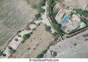 antenne,  nazca,  cantalloc, Udsigter,  Peru, Vandledninger