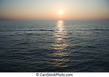 antenne, ocean.
