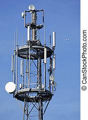 antenne, telekommunikation