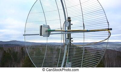 antenne, toit