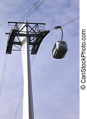 antenne, tram, portland, oregon.