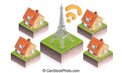 antenne, wifi