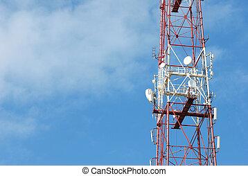 antenne, wth, espace, pour, ton, texte