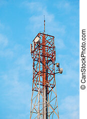 Antennen, Turm, Telekommunikation