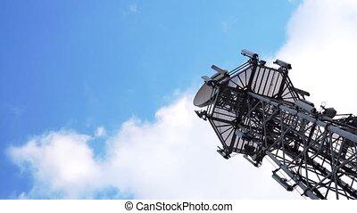 antennes télévision, tour radio