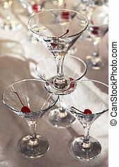 anteojos, de, martini