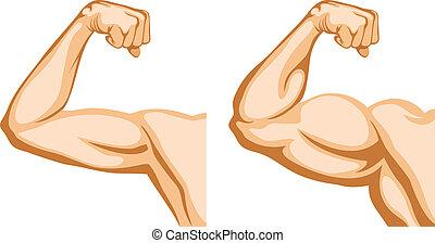 antes de, após, condicão física