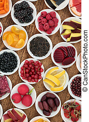 Anthocyanin Health Food Selection - Healthy food for good...