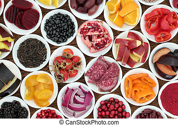 Anthocyanin Super Health Food Selection - Anthocyanin super...