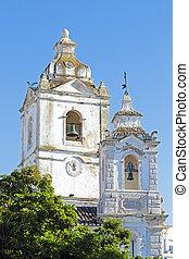 anthony, rue., lagos, portugal, église