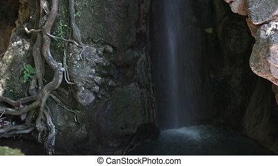 Anthousa waterfall near Parga Greece