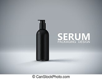 Anti aging serum ads poster template. - Anti aging serum for...
