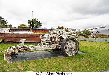 Anti air tank - Relic of an anti air tank in Normandy