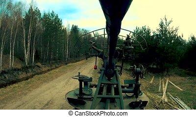 Anti-aircraft gun of artillery troops - Anti-aircraft gun,...