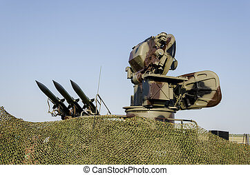 Anti aircraft missile system