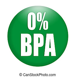 anti bisphenol A (BPA) sign logo